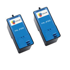 2 Compatible JF333 Ink Cartridge for DELL 810 725