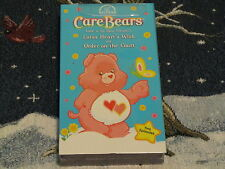 NEW VHS CARE BEARS LOTSA HEART'S WISH ORDER ON THE COURT 2 EPISODES~FREE SHIP~