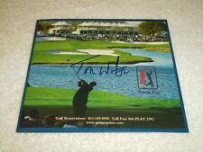 Tom Watson Hand Signed TPC Tampa Bay Scorecard PGA Golf Signature Autograph