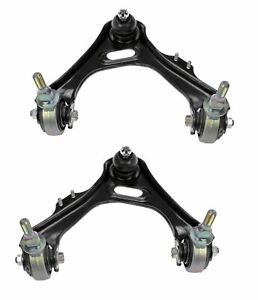 NEW Pair Set of 2 Front Upper Suspension Control Arm & Ball Joints For Acura RL