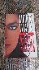 MICHAEL JACKSON MOONWALK FIRST PRINTING 1988 USA HARD BACK COVER NO PROMO CD