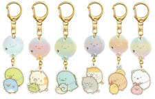 Japan San-X Sumikko Gurashi Acrylic Mascot Keychain Key Holder