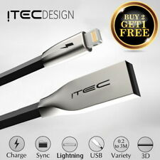 iTec Lightning Sync & Charger USB Data Cable For Apple iPhone 6 5 7 iPad Air