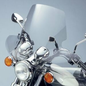 National Cycle Plexistar 2 Clear Windshield for 1974-2003 Honda GL1000 Gold Win