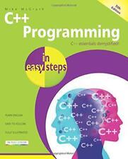 C programación in Easy pasos, 5th Edición de Mike McGrath Libro De Bolsillo 97