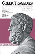 NEW - Greek Tragedies, Volume 3