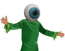 Giant Eyeball Eye Mask Latex Alpha Centauri Alien Film TV Scary Full Halloween