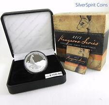 2013 KANGAROO SILVER PROOF 1oz Coin