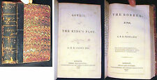 1850 G P R JAMES GOWRIE KINGS PLOT + THE ROBBER TALE ONE VOL SIMMS M'INTYRE