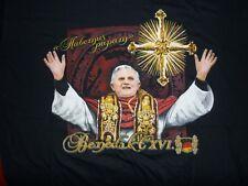 B&C T Shirt Habemus Papam Papst Benedikt  Gr  L neu
