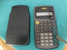 TI-30XA Texas Instruments Scientific Solar Calculator with cover