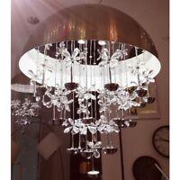 39W LED Kristall Hängeleuchte Wohnzimmer Deckenlampe Pendellampe Schlafzimmer