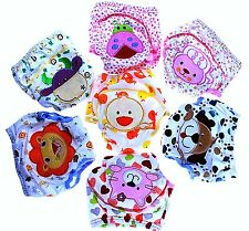Kids Potty Training Pants 100% Cotton/ Terry /Peva Layers Protection , 2 3 4 yrs