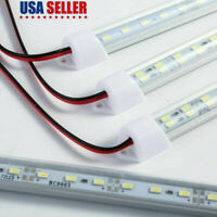 12V/24V LED Strip Light Tube Bar Hard Rigid Lamp White For Car Caravan Home US