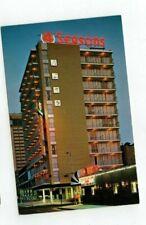 "NJ Atlantic City New Jersey vintage post card ""Four Seasons Motel"""