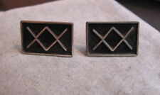 Taxco, Mexico Cuff Links Vintage Sterling Silver Dos Equis