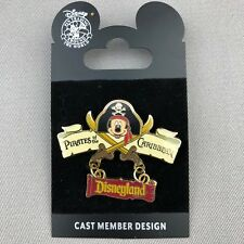 Disney DLR Pirates of the Caribbean 2007 Create A Pin SIGNED LE 500 Mickey 56552