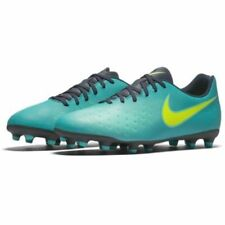 NEW Nike Magista Opus II FG RIO TEAL VOLT OBSIDIAN JADE sz 9 CLEATS -US SELLER-