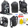 VIVITAR XL BACKPACK SLING CARRYING CASE FOR CANON EOS REBEL T3 T3I T5 T5I T6 7D