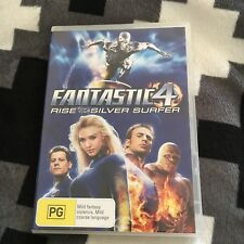 FANTASTIC 4 DVD. RISE OF THE SILVER SURFER DVD