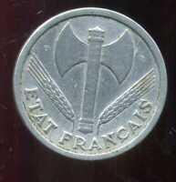 2 francs  BAZOR 1943  B  ( 3 )