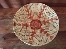 RARE EARLY NATIVE AMERICAN INDIAN BASKETRY BASKET