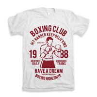 Shirt T Boxing Club Gym Men Iron Mike Tyson Catskill Mma New Top Tee S Legend