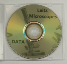 LEITZ microscope data manuals guides vintage reference materials brochures info