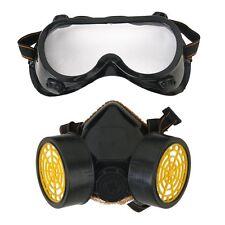 Mascherina respiratore anti-polvere gas Chimico vernice + occhiali HK