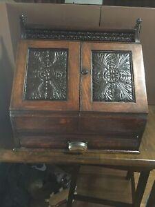 Antique table top desk/secratary/with Secret Compartment