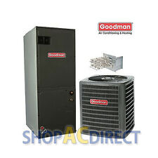 3 Ton 14 SEER Goodman Heat Pump Split System GSZ140361 ARUF37D14