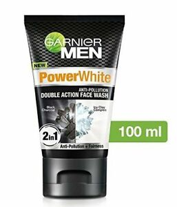 Garnier Men Power White Double Action Face Wash 100gm