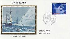 Canada FDC Sc # 865 Arctic Islands with Colorano cachet- WW 7300