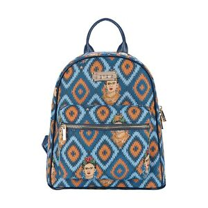 FRIDA KAHLO ICON DAYPACK CASUAL BACKPACK SIGNARE TAPESTRY RUCKSACK WOMEN PRESENT