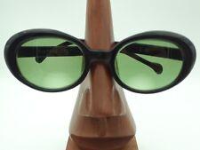 Vintage Rare Gigi Diamond Frame Oval Black Eyeglasses Sunglasses Frames Swiss