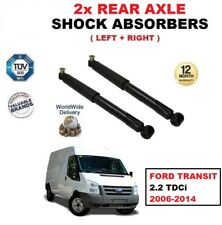 FOR FORD TRANSIT 2.2 TDCi 2006-2014 REAR AXLE LEFT & RIGHT SHOCK ABSORBERS SET