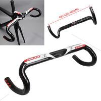 EC90 Carbon Fiber Road Bike Handlebar Bicycle Drop Bars 31.8*400-440mm