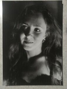 Pinup Girl risque Female Model Original Paper 13*18cm