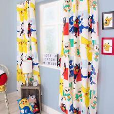 Pokemon Dash vorgefertigt plissiert Fassung Vorhänge Jungen Mädchen 168cm x