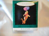 Hallmark Keepsake Christmas Ornament 1996 Miniature Winnie Pooh Tigger
