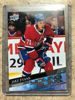20-21 UD Upper Deck Series 1 Young Guns YG RC Rookie #247 JAKE EVANS