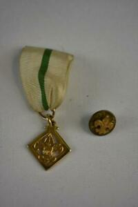 Vintage Boy Scout medal and pin