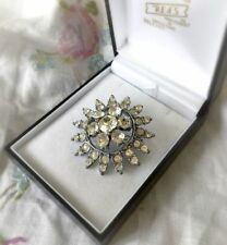 No Theme Diamante Vintage Costume Jewellery (Unknown Period)