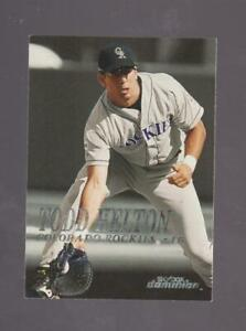 2000 Skybox Dominion # 82 Todd Helton  MINT - cheap shipping!