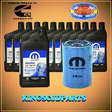 Oil Filter & 15W40 Diesel Oil 5.9  6.7 Cummins Turbo Dodge Ram Mopar OEM