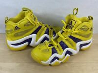 Adidas Crazy 8 Eight Lakers Sun Yellow Purple White Size 7.5 G24829 Kobe Bryant