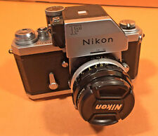 Nikon F Photomic FTN Chrome camera 35mm with NIKKOR-H•C Auto 1:3.5 f=28m Lens