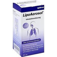 LIPOAEROSOL liposomale Inhalationslösung 45ml PZN 9299992
