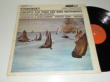 STRAVINSKY M- Magaloff Ansermet Piano and Wind Orchestra de la Suisse Romande