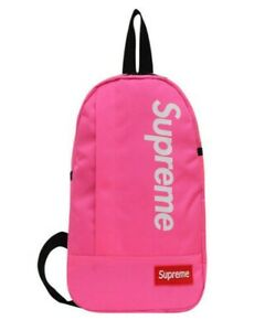 PINK SUPREME CROSSBODY BACKPACK SINGLE STRAP BAG *BRAND NEW-FAST FREE SHIPPING*
